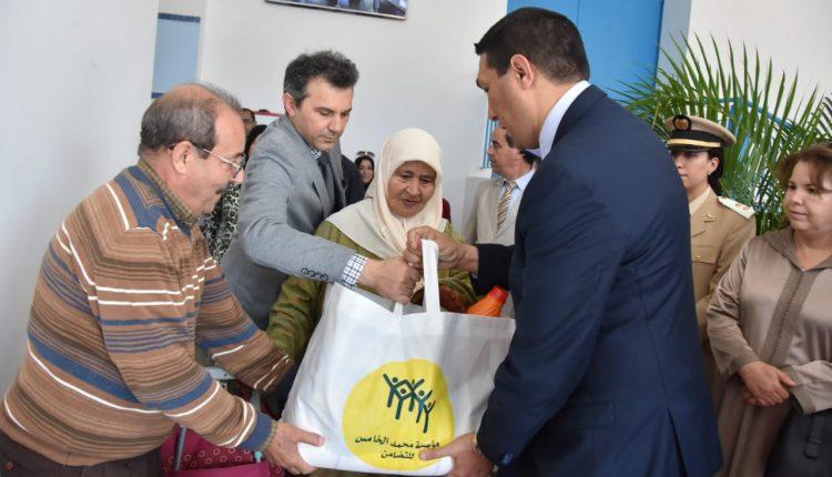 ألف أسرة تستفيد من عملية الدعم الغذائي في رمضان بالمضيق الفنيدق