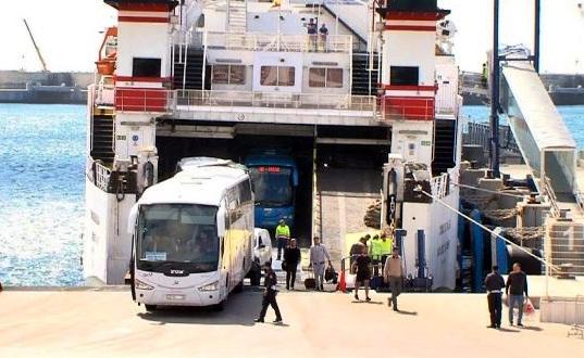 منع حافلات مغربية من الدخول إلى أوروبا