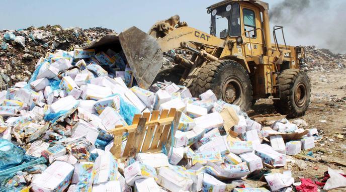 مكتب السلامة الصحية يحجز 29 طن من المنتجات غير الصالحة للاستهلاك بجهة الشمال