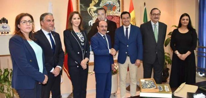 الاتفاق على إنشاء لجنة تقنية للتعاون بين الأندلس وجهة طنجة – تطوان – الحسيمة