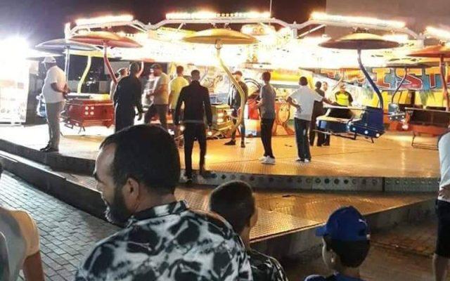 سقوط عربات سيرك يخلف 20 مُصابا بفضاء للألعاب بطنجة