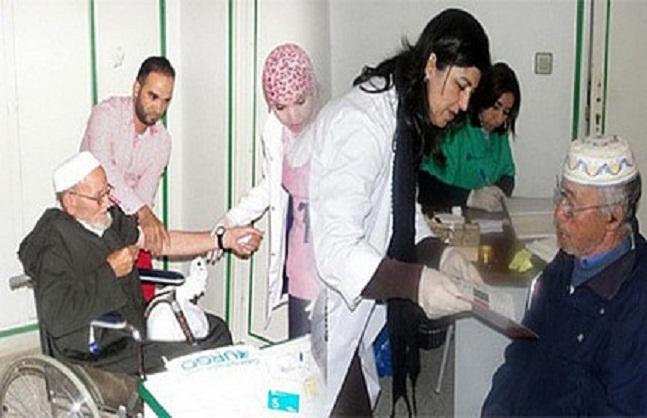 أزيد من 450 مستفيد من قافلة طبية واجتماعية بإقليم الحسيمة