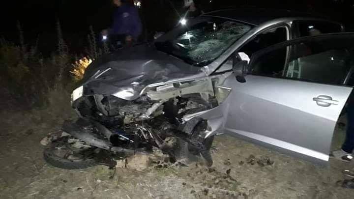 مصرع سائق دراجة نارية و إصابة شخص  آخر في حادثة سير مميتة بين المضيق و الفنيدق