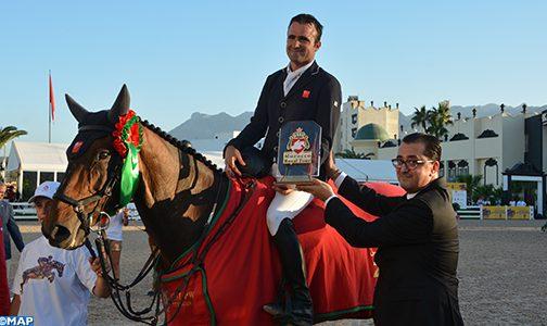 عامل تطوان يسلم جائزة صاحب السمو الملكي الأمير مولاي الحسن للفارس الفائز أوليفيي