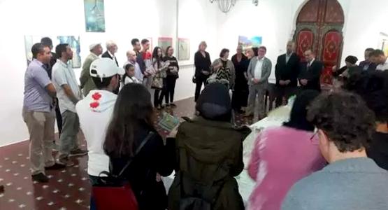 معرض تشكيلي جماعي بتطوان لفنانين من ألمانيا