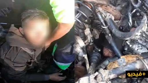بالفيديو .. العثورعلى مهاجر مغربي بميناء سبتة مختفي داخل شاحنة متجهة الى إسبانيا