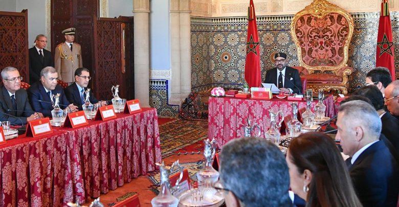 الملك محمد السادس يترأس مجلسا وزاريا … و هذه أهم نقاطه
