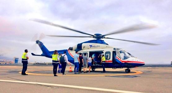 شركة هيليتي تقترب من إطلاق خطها الجوي من اسبانيا الى شمال المغرب بالمروحيات