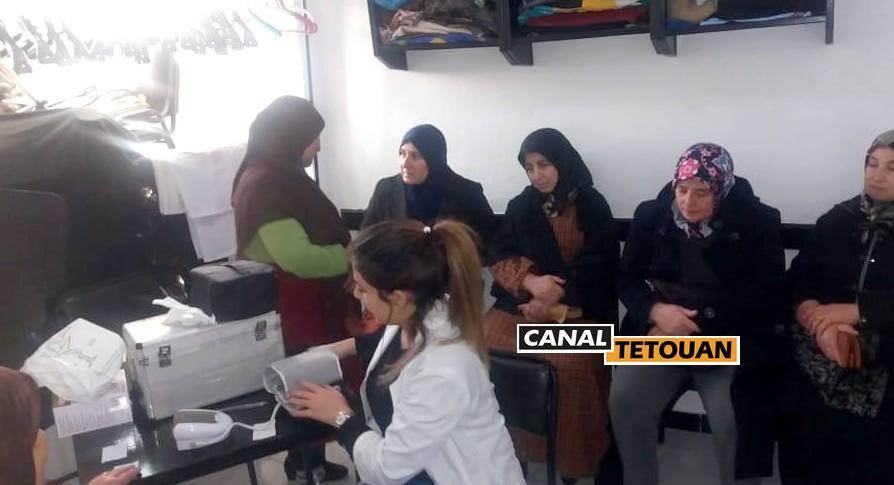 جمعية يد المساعدة تنظم حملة طبية متعددة التخصصات بتطوان (شاهد الصور)