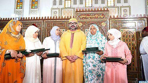 ابنة الفنيدق نبيلة الحبشي تحرز جائزة محمد السادس للمتفوقات في محاربة الأمية