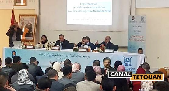 المقرر الاممي فابيان سالفيولي يحاضر بجامعة عبد المالك السعدي بتطوان حول العدالة الانتقالية