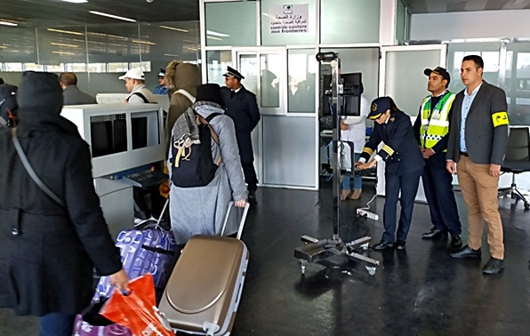 ميناء طنجة المتوسط يشدد الإجراءات الوقائية تخوفا من وصول فيروس كورونا من إسبانيا