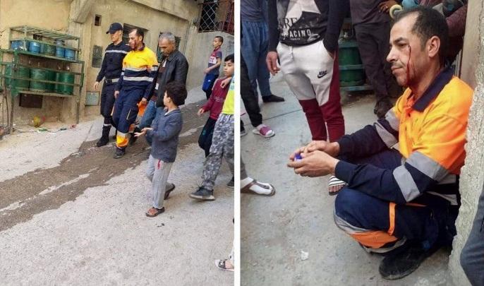 ايقاف شخصين متورطين في الاعتداء على عامل نظافة بطنجة