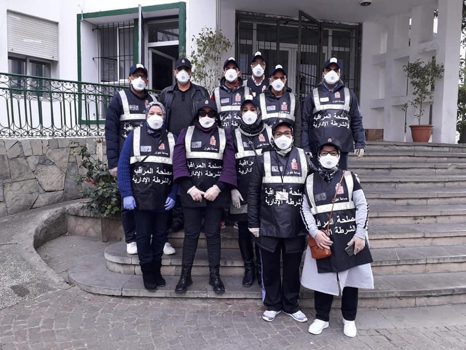 حملة تحسيسية بشوارع وأحياء مدينة تطوان
