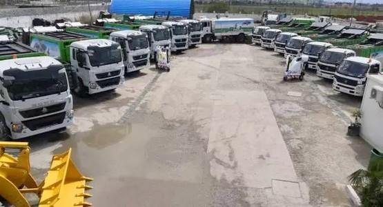 قطاع النظافة بجماعة تطوان يتعزز بأسطول متطور صديق للبيئة