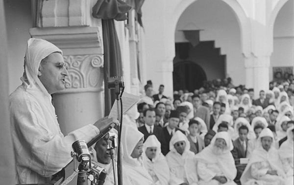 زيارة المغفور له محمد الخامس لتطوان و طنجة .. خطابان تاريخيان للمطالبة بالاستقلال