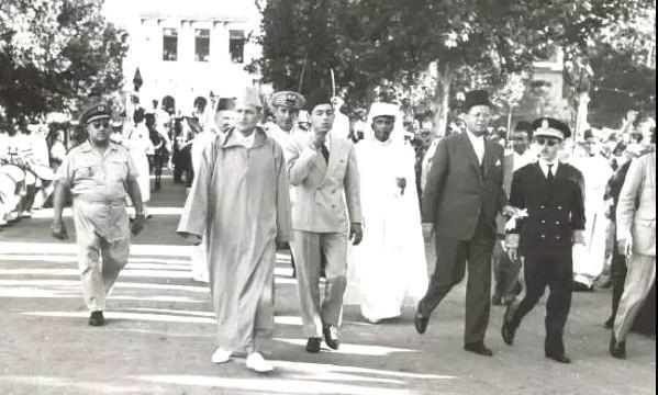 9 أبريل، ذكرى الزيارة التاريخية المغفور له محمد الخامس إلى تطوان