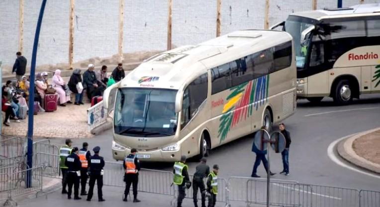 رسميا:عملية إعادة المغاربة العالقين بسبتة المحتلة تنطلق يوم الجمعة