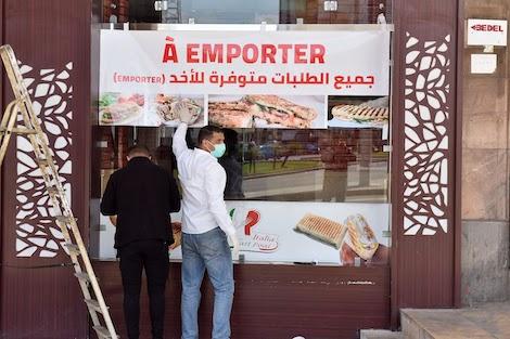 ابتداء من الجمعة .. المقاهي والمطاعم تستأنف العمل بالطلبات المحمولة وخدمات التوصيل