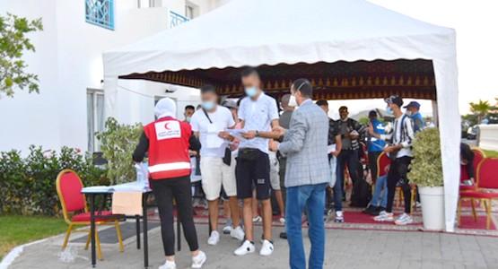 """بعد عودة """"مغاربة تركيا"""" من مطار تطوان .. هذه الفنادق التي تستقبلهم (شاهد الصور)"""