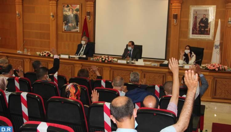مجلس الجهة يصادق على مجموعة من الاتفاقيات باقليم تطوان