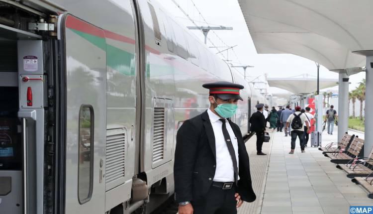 استئناف رحلات القطارات من وإلى طنجة ابتداء من غد الأربعاء