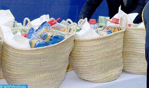 الهلال الأحمر يوزع مساعدات غذائية على مرضى القصور الكلوي بالمضيق الفنيدق