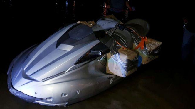 محاولة تهريب مخدرات على متن دراجة بحرية بالقصر الصغير