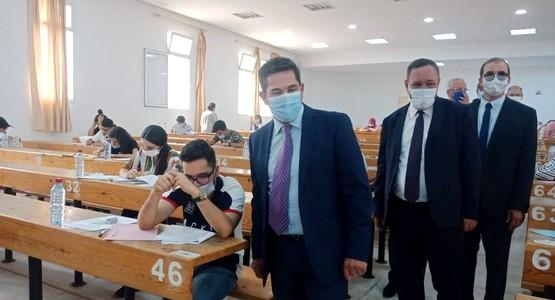 بالصور .. الوزير سعيد أمزازي في زيارة تفقدية لكلية الآداب والعلوم الانسانية بتطوان