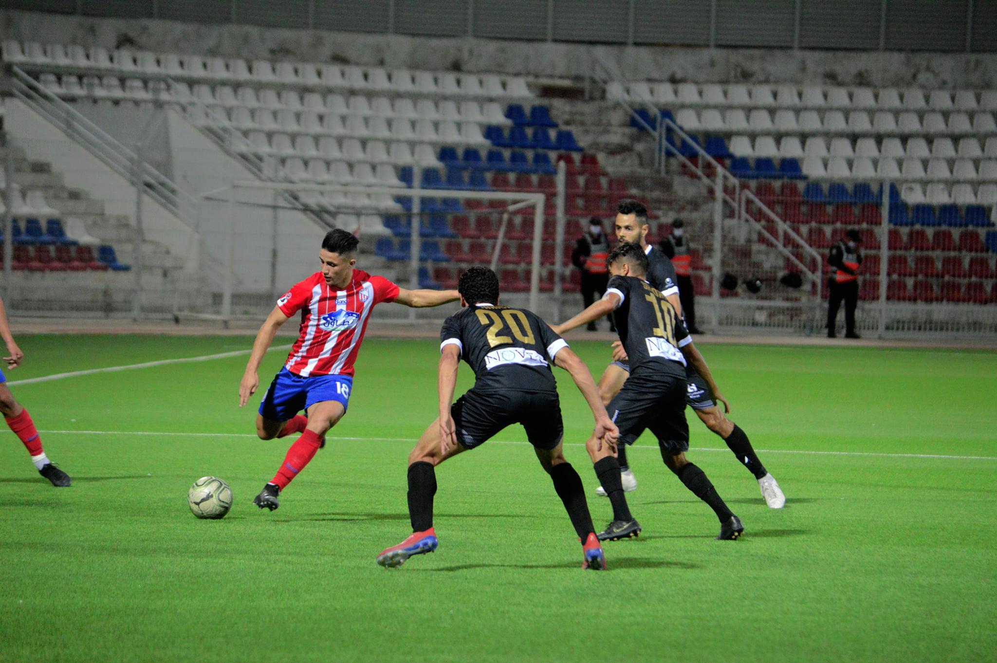 فريق المغرب التطواني يضمن مقعده بالقسم الوطني الأول بعد فوزه على فريق الفتح الرباطي