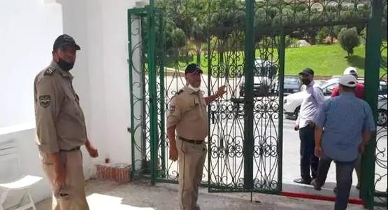 تنظيم محكم للمقبرة الإسلامية بتطوان خلال جائحة كورونا