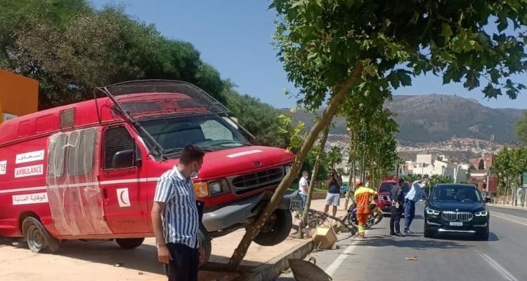 حادثة سير خطيرة بتطوان
