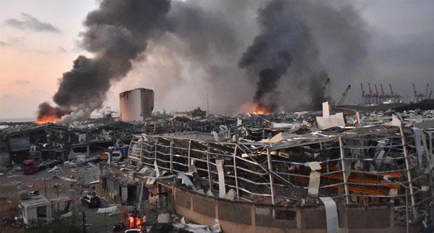 أزيد من 100 قتيل وأربعة آلاف جريح جراء انفجار مرفأ بيروت