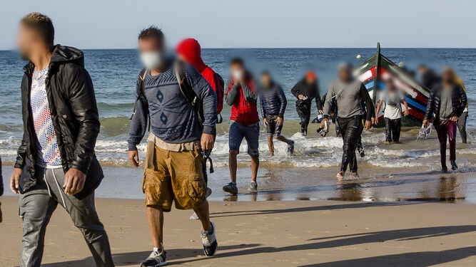 ارتفاع أعداد المهاجرين السريين الجزائريين باسبانيا .. الوزيرة تعرب عن قلقهـا !
