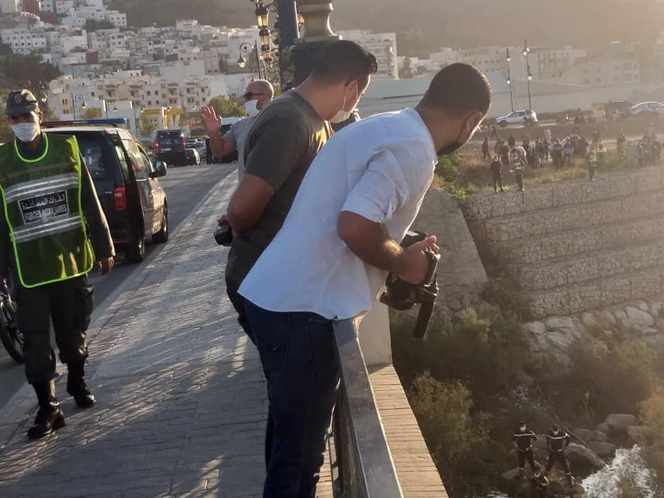 بالصور .. مصرع شاب بعد سقوطه فوق قنطرة بوعنان بتطوان