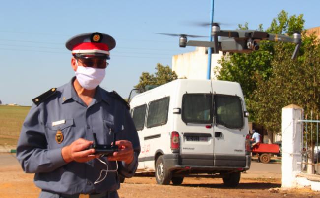 استخدام طائرة الدرون لتوقيف مبحوث عنه في شمال المغرب