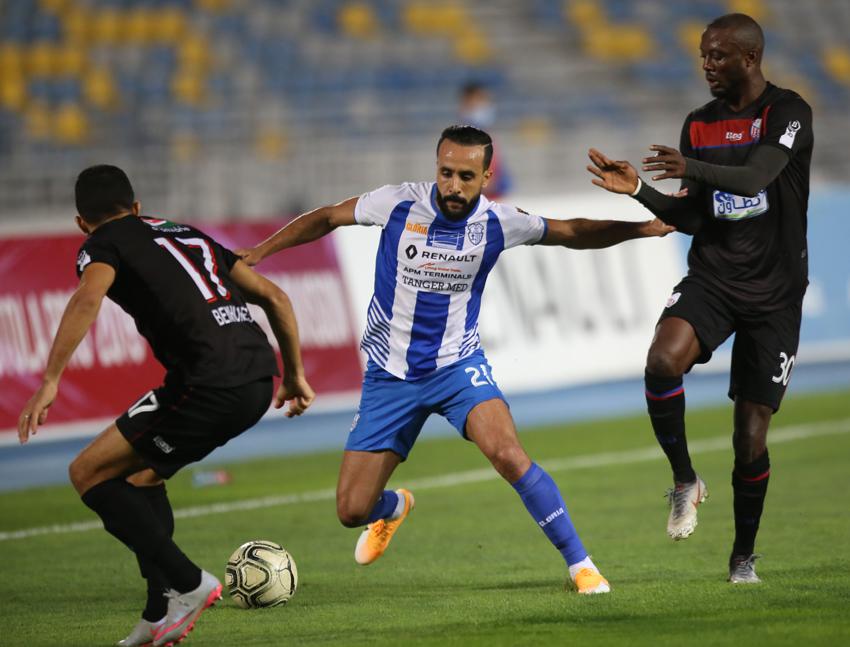 إتحاد طنجة يفوز على المغرب التطواني ويحيي آمال البقاء