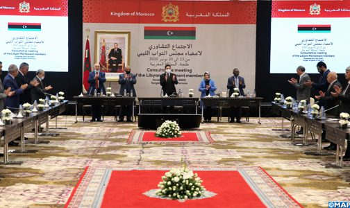 أعضاء مجلس النواب الليبي يعلنون من طنجة عن اجتماع نهائي لأزمتهم بمدينة غدامس