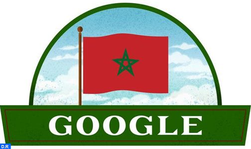 """محرك البحث """"غووغل"""" يحتفي بذكرى عيد استقلال المملكة المغربية"""