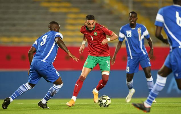 المنتخب المغربي يحقق فوزا ثمينا على منتخب إفريقيا الوسطى