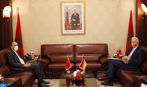 سفير ألمانيا بالرباط يشيد بجهود المغرب من أجل حل الأزمة الليبية