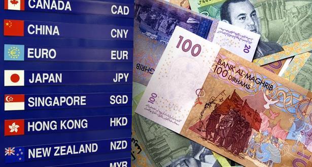 هذه أسعار صرف العملات الأجنبية مقابل الدرهم اليوم الثلاثاء