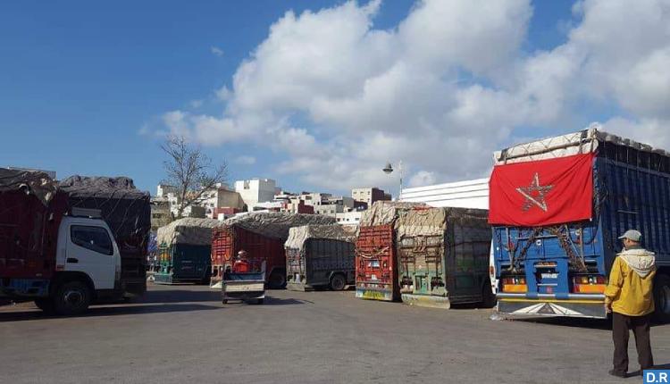عائدات سوق الجملة للخضر والفواكه بمدينة تطوان خلال عام 2020