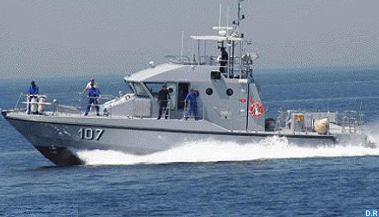 البحرية الملكية تجهض عملية لتهريب مخدر الشيرا بعرض ساحل طنجة