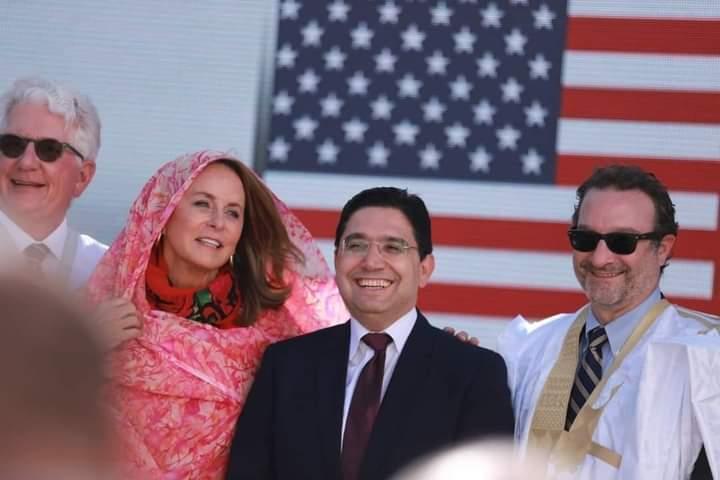 تفاصيل زيارة الوفد الأمريكي لمقر القنصلية الأمريكية العامة المرتقبة بالداخلة