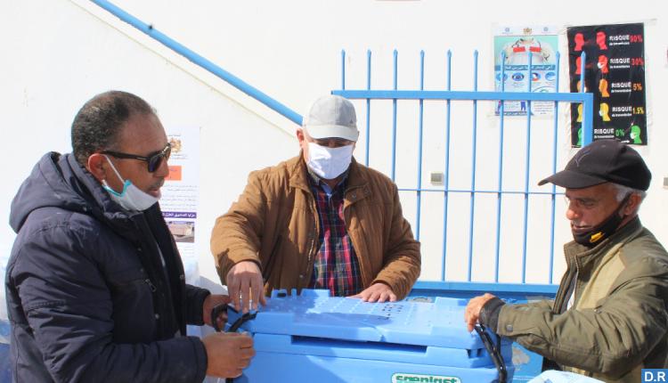 توزيع أزيد من 10 آلاف صندوق عازل للحرارة على مهنيي الصيد التقليدي بسواحل الشمال