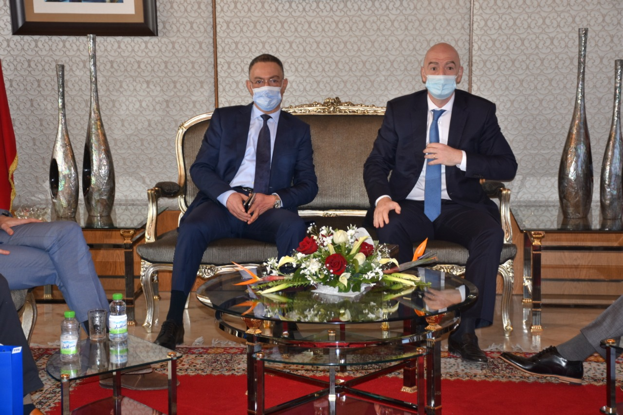 رئيس الفيفا يختتم زيارته إلى المغرب