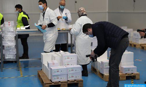 """المغرب يتلقى الحصة الأولى من اللقاحات المضادة لفيروس كورونا المستجد بموجب آلية """"كوفاكس"""""""