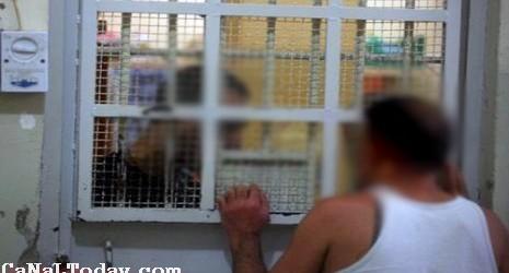 سجين حاول الإنتحار بعد أن بلع 4 شفرات حلاقة وبطاريات المذياع