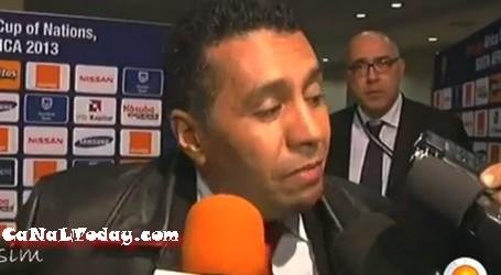 فيديو : الطاوسي يدرف الدموع في تصريح مؤثر بعد الأقصاء